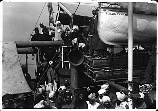 "VPL #136, Canadian Photo Company, 1914, ""Komagata Maru"" incident"