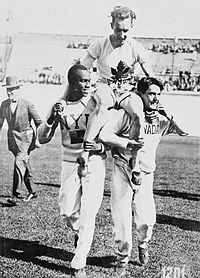 Percy Williams wins Olympic glory
