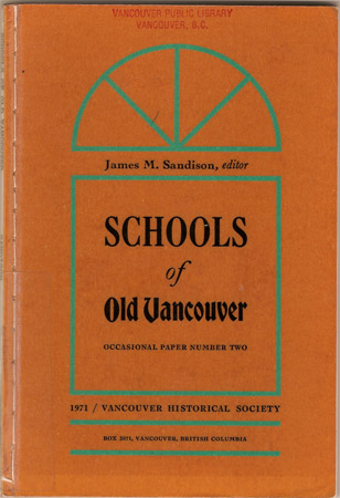 Schools of Old Vancouver James Edited